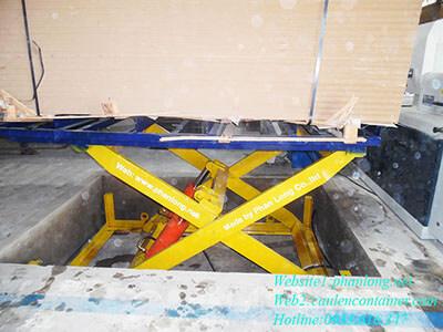 lắp đặt bàn nâng thủy lực