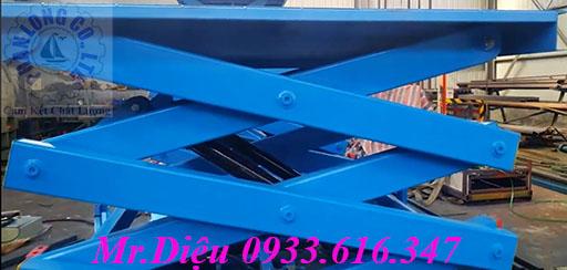 bàn nâng hàng thủy lực tự động 1000kg