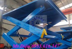 bàn nâng tự động thủy lực 1000kg
