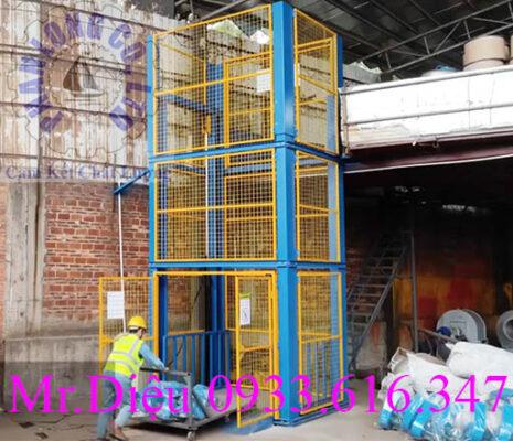 thang nâng cơ khí thủy lực 1000kg