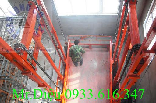 thang nâng hàng PL005