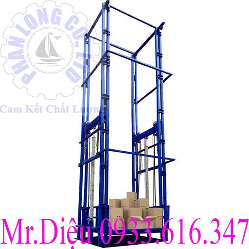 thang nâng hàng thủy lực 1000kg