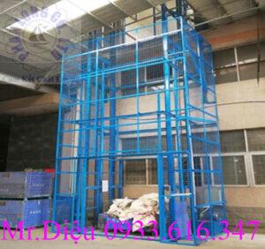thang nâng hàng thủy lực 2000kg pl001