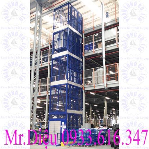 thang nâng hàng thủy lực pl003