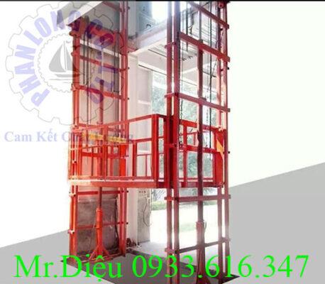 thang nâng thủy lực PL005