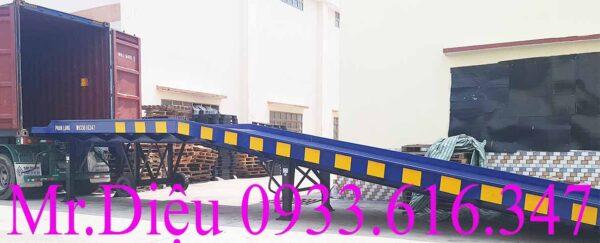 cầu container-cầu xe nâng lưới mắt cáo