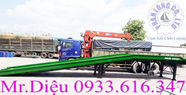 cầu xe nâng lưới mắt cáo 10000kg