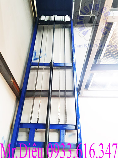bộ phận thủy lực thang nâng hàng 500kg